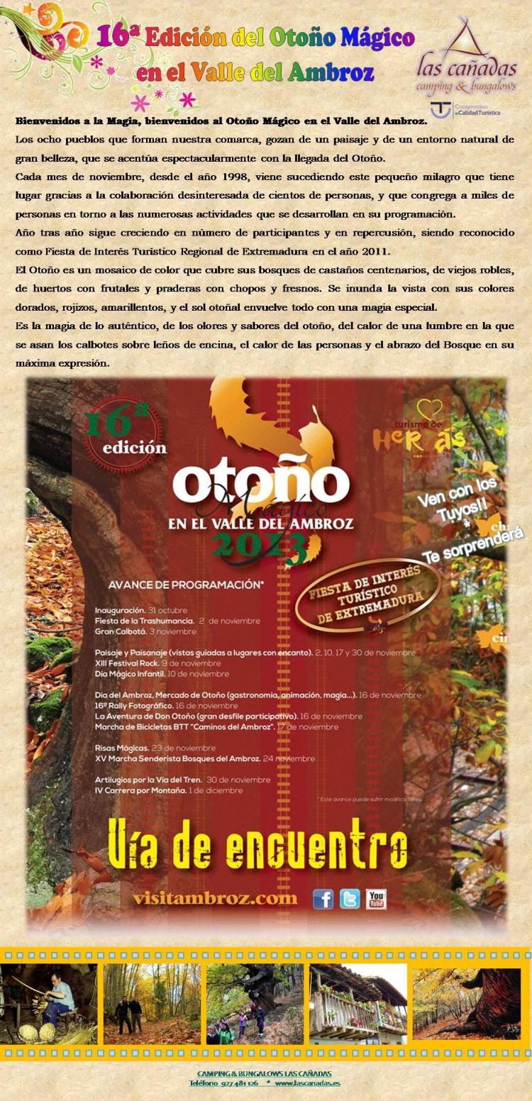 OTOÑO MÁGICO 2013 EN EL VALLE DEL AMBROZ