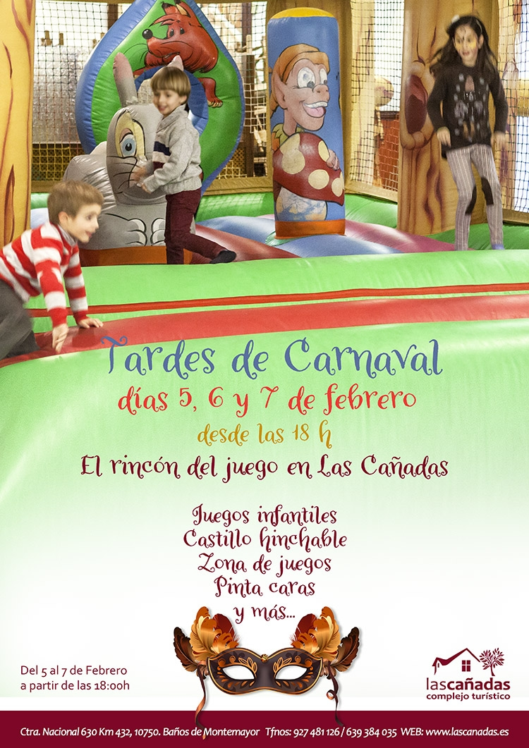 Nuestras actividades para Carnaval