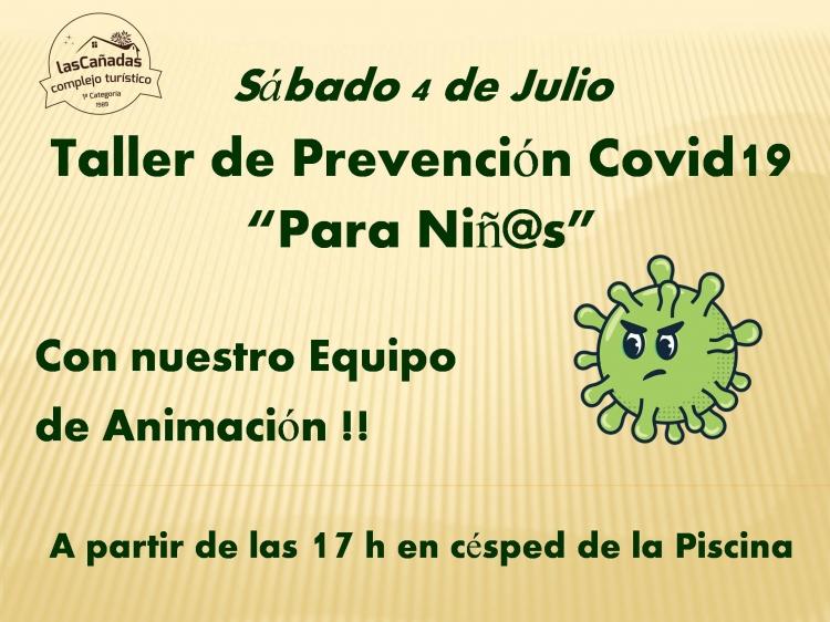 TALLER COVID19 PARA NIÑOS